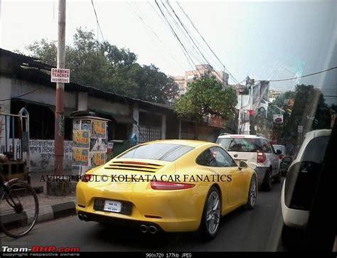 porsche kolkata supercars imports kolkata page 179 team bhp