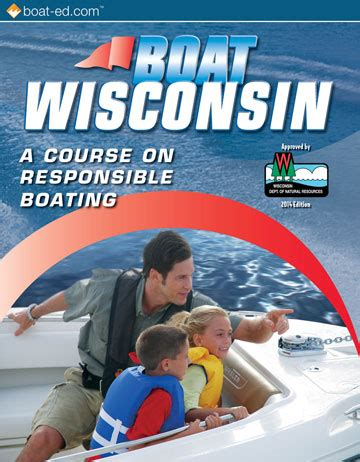 boating safety courses in wisconsin wisconsin s official boating safety course and online