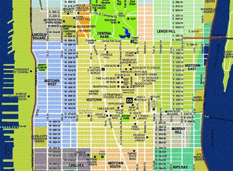 printable manhattan map manhattan tourist map pdf images