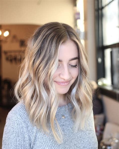 low maintenance hairstyles on pinterest messy lob 17 best ideas about long blunt haircut on pinterest