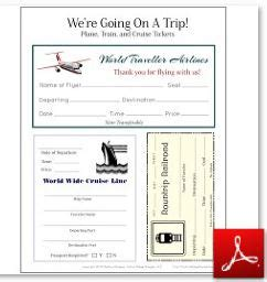 we re going on a trip free travel printables suitcase craft pretend passport and more