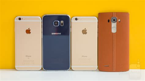 iphone 6s vs galaxy s6 lg g4 iphone 6 blind comparison vote for the best phone