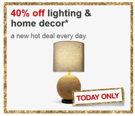 target home decor coupon target com 40 off lighting home decor 11 20 only