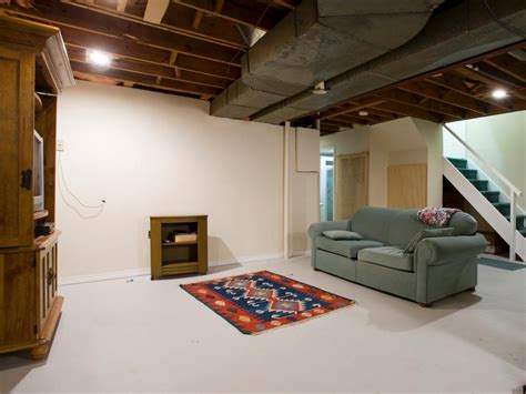 basement renovation transforms a cold space into a warm