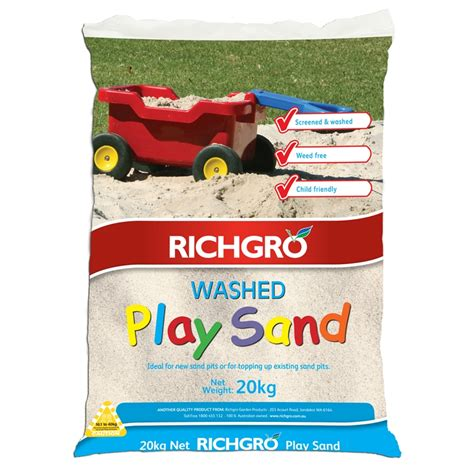 www play richgro 20kg play sand bunnings warehouse