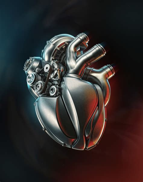 artstation heart engine aleksandr kuskov