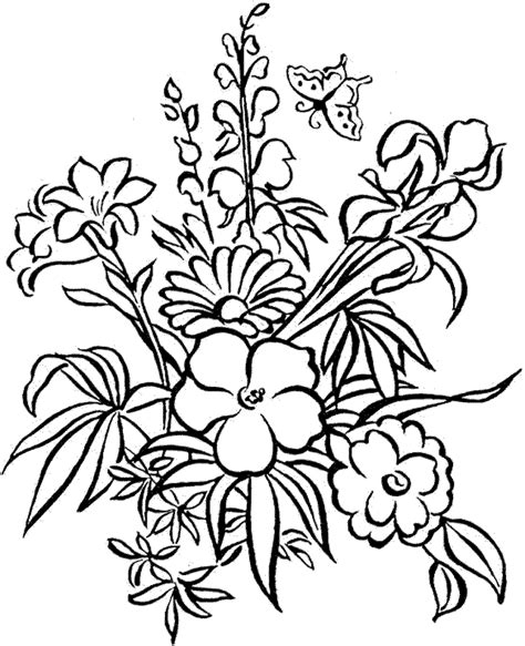 coloring pages for adults abstract flowers coloring pages detailed coloring pages for adults