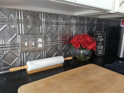 kitchen backsplash tin 2018 metal backsplash might be ideal adds texture and pop to a kitchen
