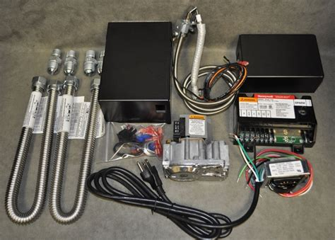 gas fireplace electronic ignition kit honeywell 150 000 btu natural gas safety pilot valve kit