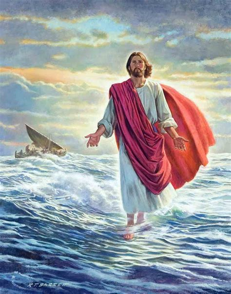 google images jesus jesus walking on water google 검색 biblical art jesus