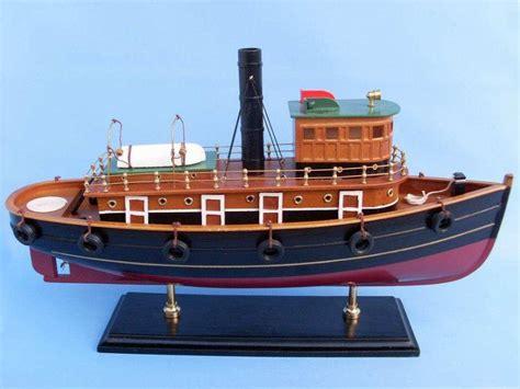 wholesale boats buy wooden river rat tugboat model wholesale wholesale