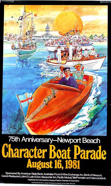 old glory boat parade newport beach local news memories of newport harbor s