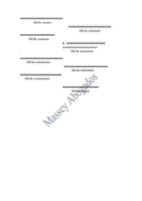 modelo de minuta de anticipo de legitima modelo de minuta de venta de derechos y acciones