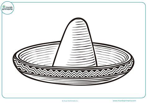 best Dibujos De Sombreros Mexicanos Para Colorear image collection