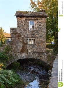 English Stone Cottage House Plans Ambleside Bridge House Editorial Stock Image Image 36280529