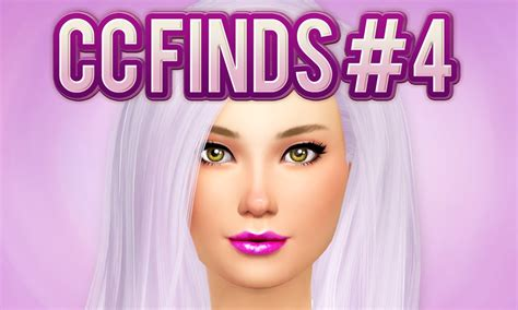 is sims 4 cc free the sims 4 cc finds 4 youtube
