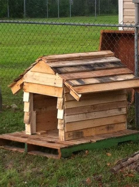 Diy Dog House Plans Made From Pallets Pallets Designs
