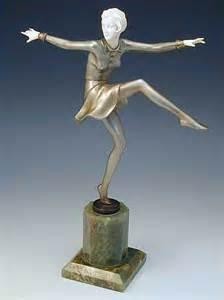 lorenzl deco bronze ivory figurine