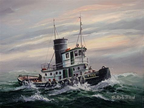 tugboat painting tug art pictures to pin on pinterest pinsdaddy