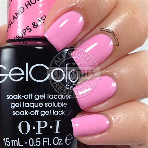 Gel Nagellak Opi by O P I Gelcolor Hawaii Collection Swatches Chickettes