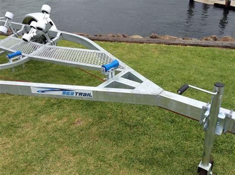 aluminum boat trailers brisbane trailer for fibreglass boats at manning marine kiama
