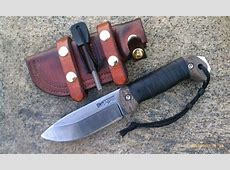 Becker Campanion BK2 | Custom Scales | knives and pointy ... Hedgehog Leatherworks