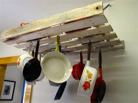 Build Your Own Pot Rack by How To Make A Pot Rack 7 Easy Ideas