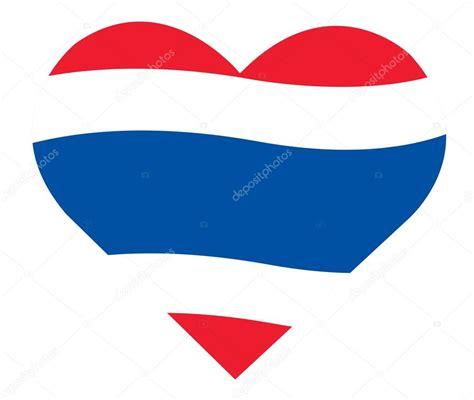 Gluta400000 Softgel V Shape Thailand thaise vlag in hart pictogram thailand vlag in hart vorm vector stockvector 169 h santima gmail
