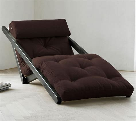 Chaise Futon wordlesstech figo futon chaise lounge