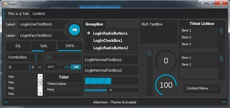 themes vb net login gdi theme xertz studio productions