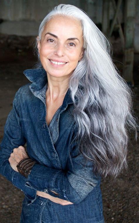 platinum hair on older women white silver platinum salt pepper gray hair a