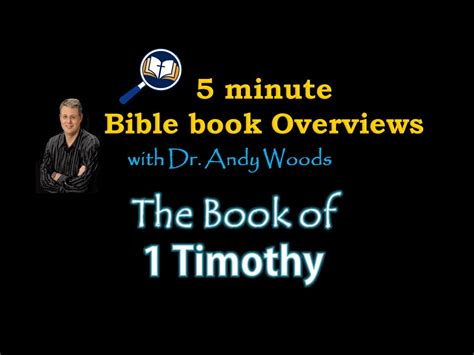 1 timothy lifechange books book of 1 timothy in 5 minutes