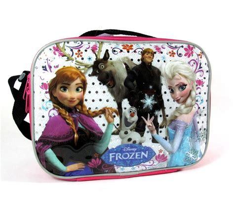 Snow Frozen Lunchbox new disney frozen elsa lunch tote box bag lunchbag lunchbox ebay