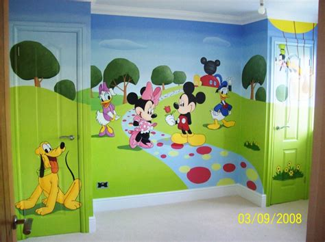 Mickey Mouse Clubhouse Room by Mickey And Friends Mural