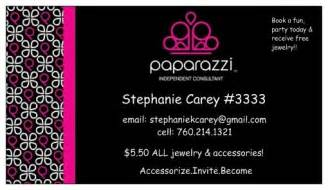 paparazzi business cards business card paparazzi accessories