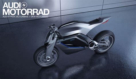 Audi Motorcycle by Audi Shows Very Cool Motorcycle Concept Autoevolution