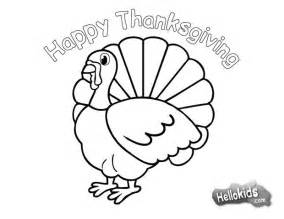 turkey to color turkey for thanksgiving coloring pages hellokids
