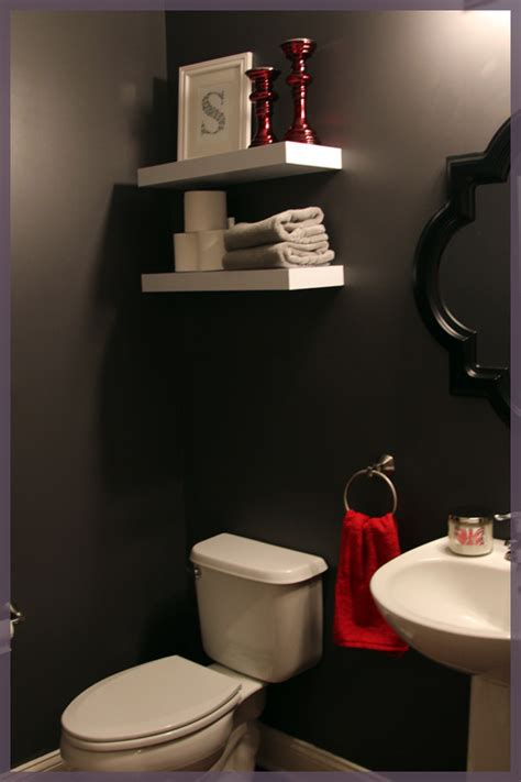 powder room shelves bathroom accessories the lil house that could