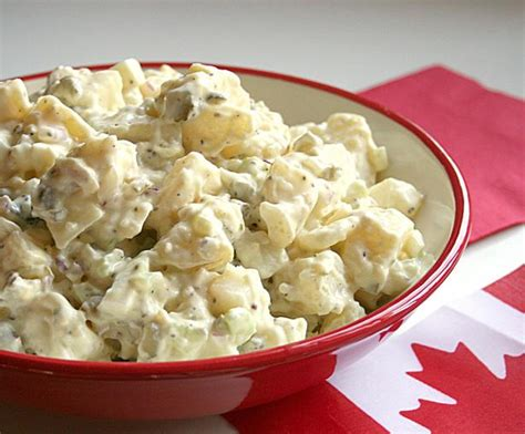 Canadian Potato by Great Canadian Potato Salad Recipe Food