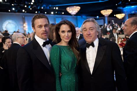 With Brad Pitt And Robert De Niro How Are How Is Brad Pitt