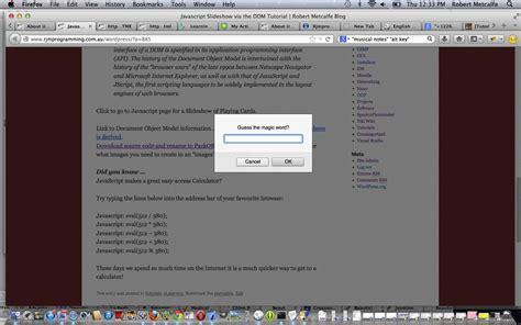 tutorial javascript programming more bookmarklet via javascript tutorial robert james
