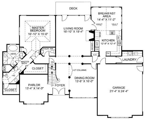 huntington floor plan huntington house 7977 4 bedrooms and 3 baths the house