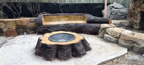 Concrete Garden Benches 15 Fire Pit Ideas To Light Your Flame Garden Lovers Club