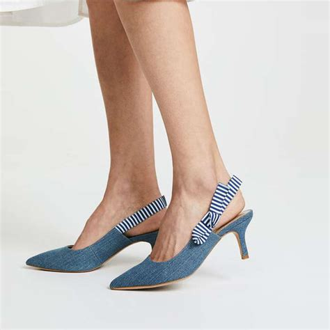 Kitten Heels Pumps the fix fatina kitten heel slingback rank style