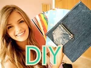 Diy notebooks amp folders back to school youtube