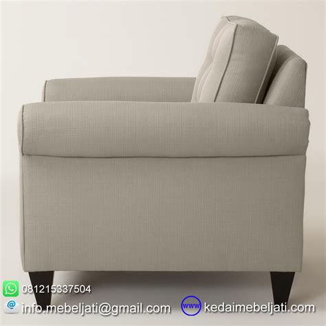 Sofa Minimalis Single beli sofa single minimalis seri auckland bahan kayu jati