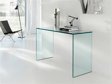 bureau table en verre console en verre 50 id 233 es de d 233 coration d int 233 rieur
