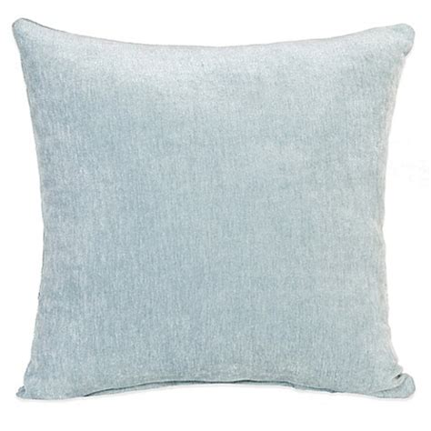 blue throw pillows for bed glenna jean central park velvet throw pillow in blue bed