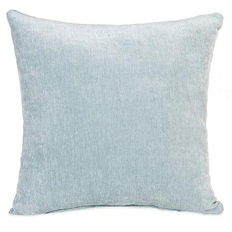 blue throw pillows for bed glenna jean central park velvet throw pillow in blue bed