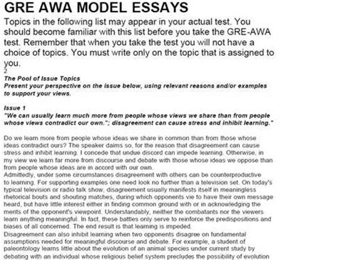 Gre Sle Essays Argumentative Gre Issue Essay Sles L Cec Image Gallery Gre Issue Essay Gre Issue Essay Template